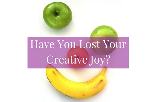 Do you feel like you've lost your creative joy? Click to discover how to get your mojo back