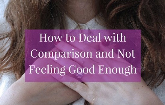 Click the image to find out how to deal with competition, comparison and not feeling good enough >>> | www.becomingwhoyouare.net