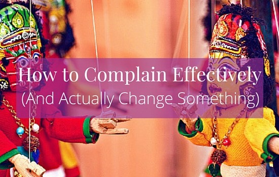 We are all susceptible to complaining, but how do you do it in a way that helps? Click the image to read more about how to complain effectively and in a way that actually changes something >>> | www.becomingwhoyouare.net