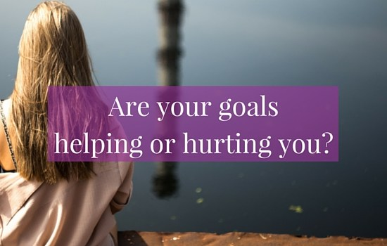 Are your goals helping you or hurting you? Click the image to discover the difference between the two key types of goals and how to create goals that feel uplifting and inspiring >>> | www.becomingwhoyouare.net