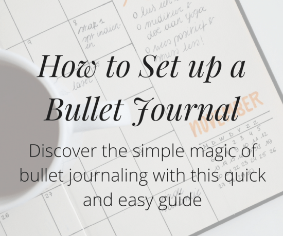 Have you been wondering how to set up a bullet journal? Discover the simple magic of bullet journaling with this quick and easy how-to guide! Click to get started >>