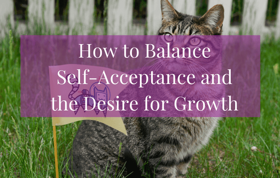 How to Balance Self-Acceptance vs. Self-Improvement