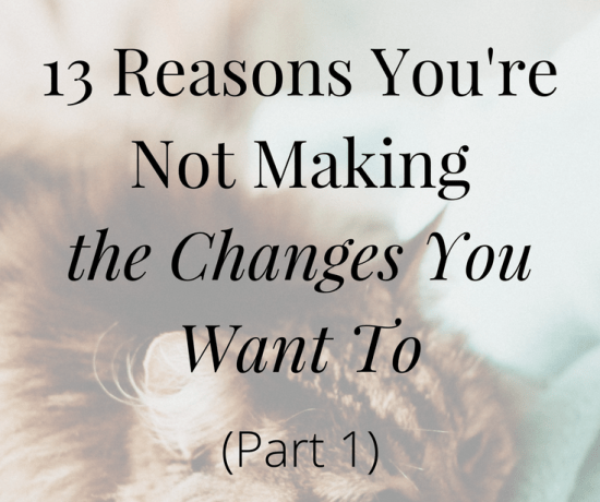 Are you struggling with making changes in your life without knowing why? Click the image to get clarity and understanding about your situation | www.becomingwhoyouare.net