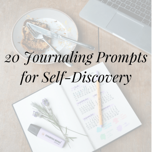 Looking for writing inspiration? Click to discover 20 journaling prompts for self-discovery