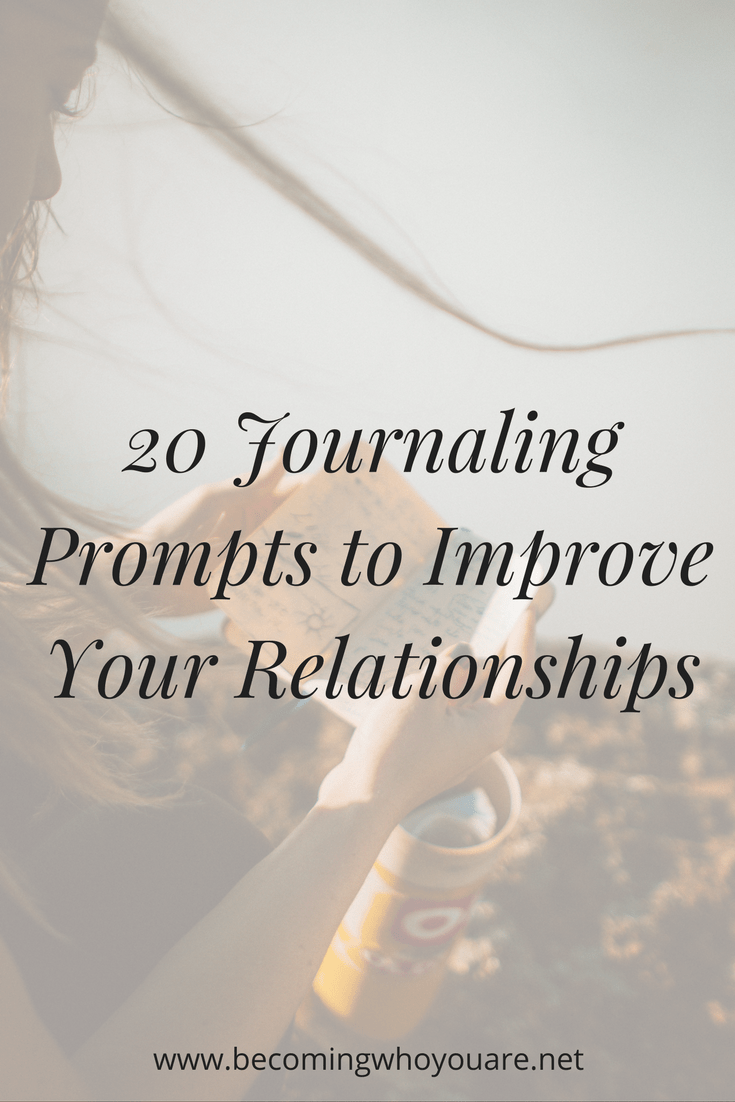 20 journaling prompts to help