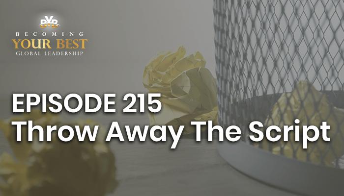 Episode 215 – Throw Away The Script