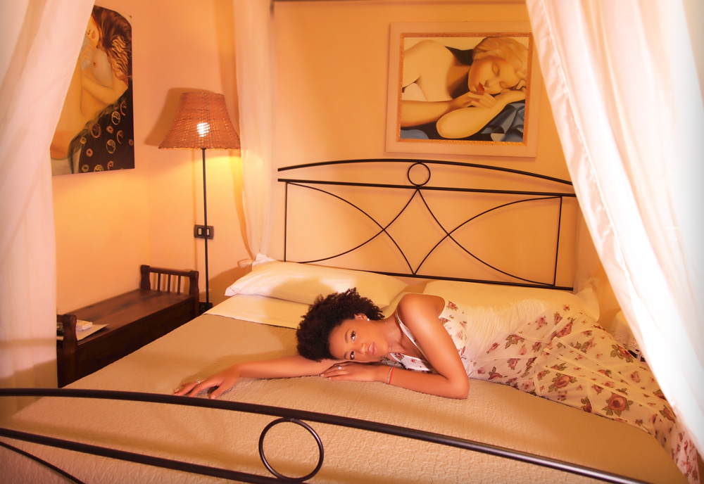 bed and breakfast il casale - camera coloniale
