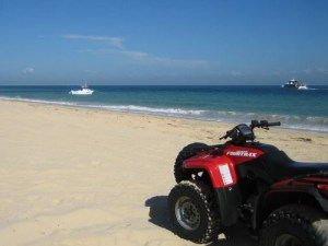 ATV on Beach