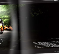 Magazine Page Design Services from Bedazzled Graphic Design, layout from LUSSO Magazine