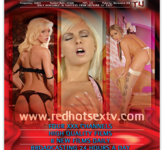 A4 magazine advert for Redhot Sex TV
