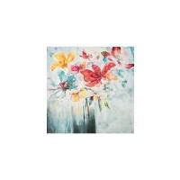 Wall Art - Vibrant Floral Vase Print Paint Art