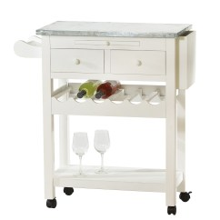 Kitchen Trolley 6 Person Table Furniture Home Chic Olivia
