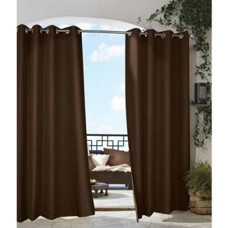 Outdoor Curtains Outdoor Drapes Outdoor Patio Curtains  Brown
