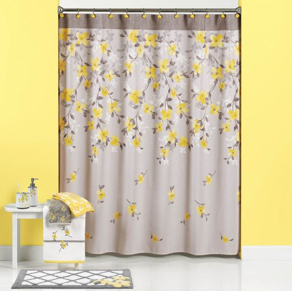 white stripes shower curtains for