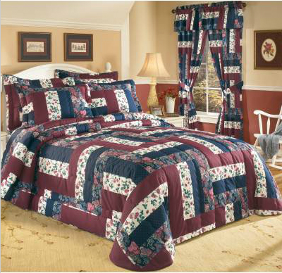 Caledonia Country Patch Bedspread