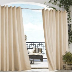 Tub Accent Chair Red Folding Chairs Khaki Gazebo Solid Grommet Top Indoor Outdoor Curtain Panel