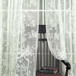 Bath Chair Accessories Healthy Start High English Ivy Curtains By Heritage Lace: Bedbathhome.com