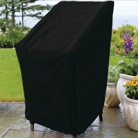 Outdoor Patio Stacking Chair Cover
