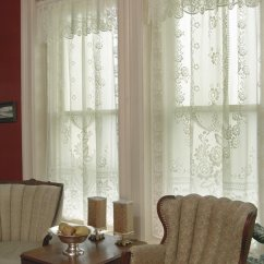 Kitchen Blinds Birkenstock Clogs Victorian Rose Lace Curtains By Heritage Lace: Bedbathhome.com