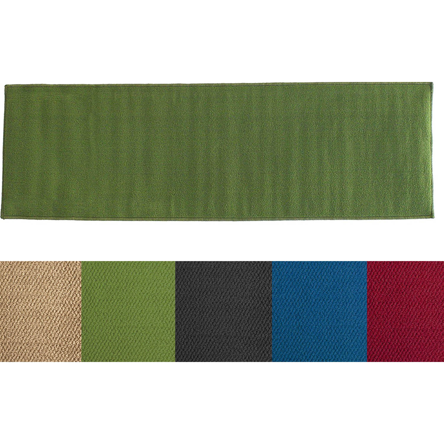 Ritz Accent Solid Color Runner Rug  Altmeyers BedBathHome