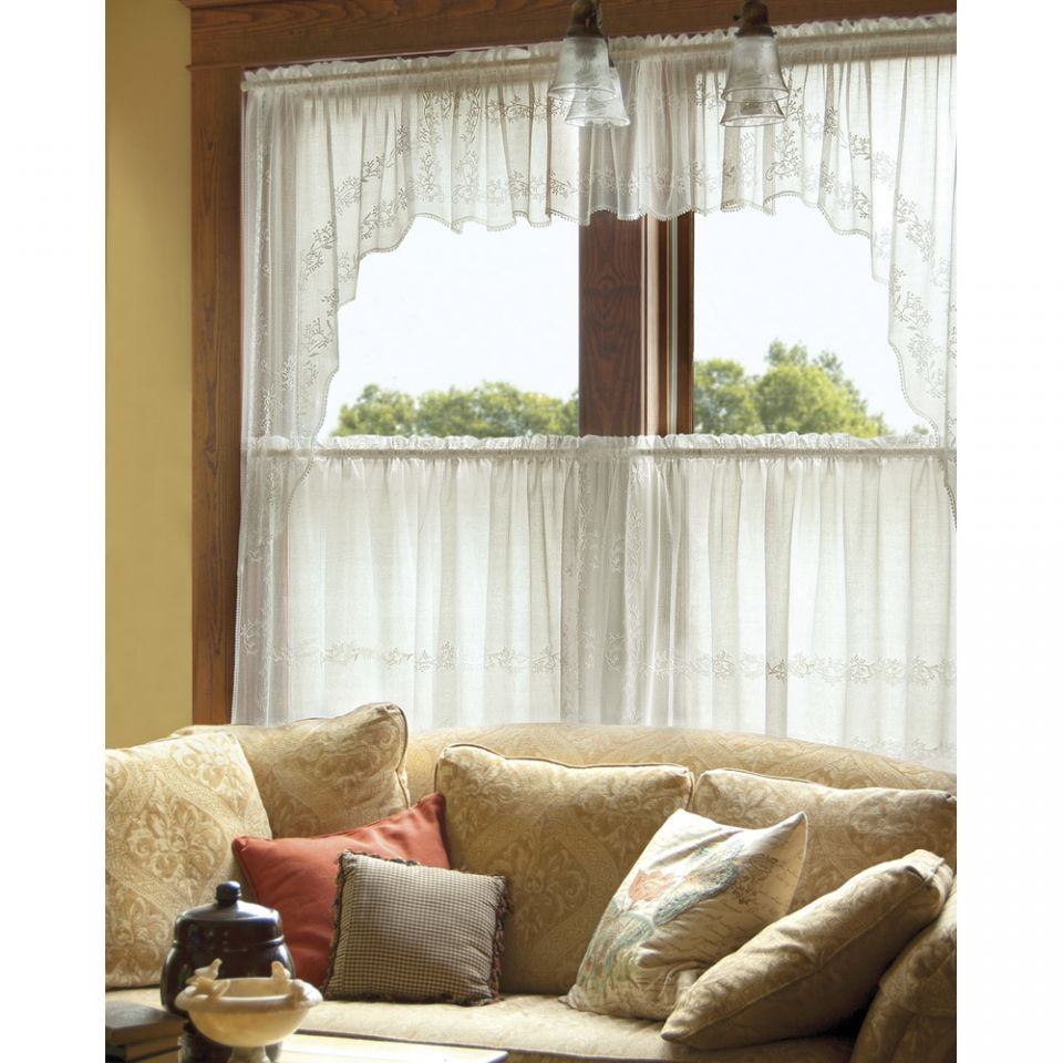 Heritage Lace Sheer Divine Curtains BedBathHomeCom