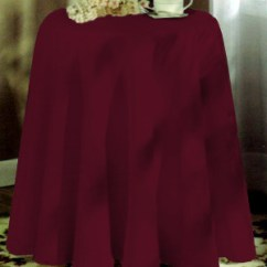 Kitchen Curtains Valances Affordable Cabinets Concord 70in Round Tablecloth - Burgundy: Bedbathhome.com