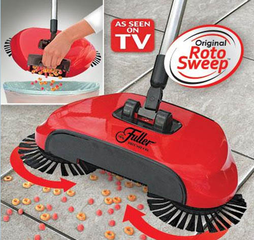 Roto Sweep Floor Sweeper by Fuller Brush  Altmeyers