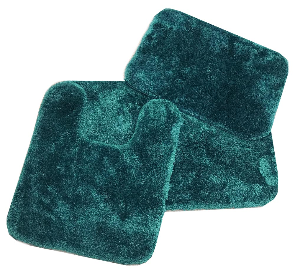 teal chair covers toddler high booster seat royale hunter green bath rug ensemble: bedbathhome.com