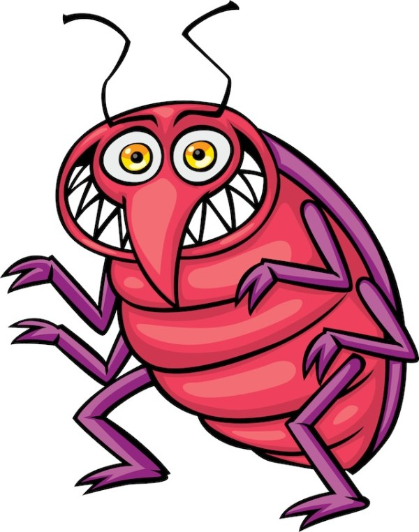 bed bug clipart