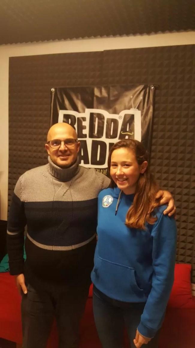 Arianna Sacco campionessa italiana e vice campionessa d'Europa di categoria di sci nautico.