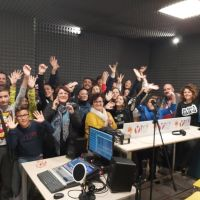 """La """"Romagnoli"""" di Gela a scuola di """"Digital Radio"""""""