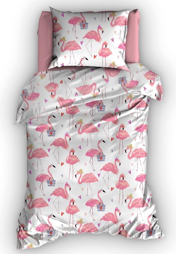 Duimelot dekbedovertrek Flamingo  Gratis verzending