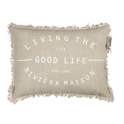 Riviera Maison Good Life cushion Sierkussen Zand