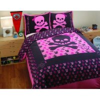 Awesome Skull Bedding for Girls and Boys