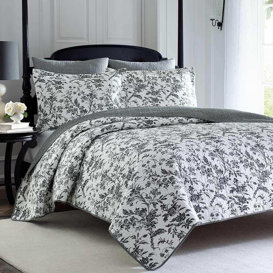 Laura Ashley Amberley Quilt Set from Beddingstylecom