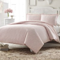 Stone Cottage Ava Soft Dusty Pink Comforter and Duvet Set ...