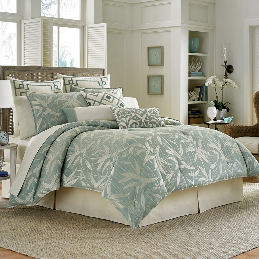 Tommy Bahama Bamboo Breeze Comforter Set from Beddingstyle.com