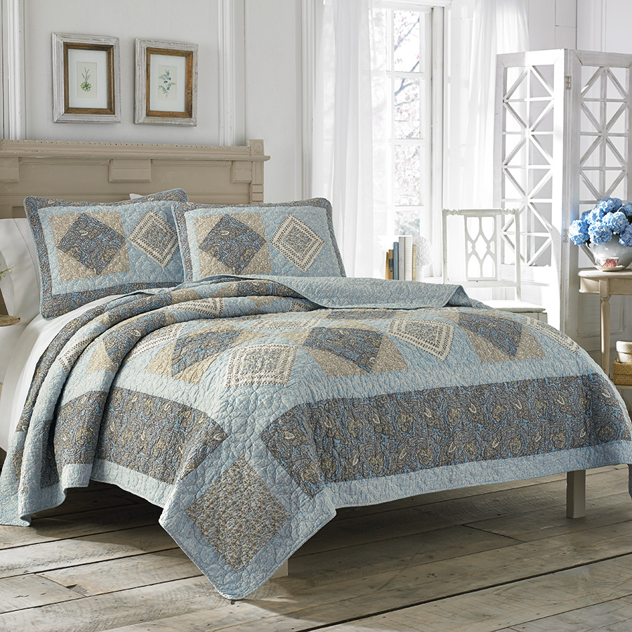 Laura Ashley Barrington Quilt Collection from Beddingstylecom