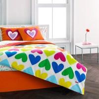 Agatha Ruiz De La Prada Bloom Hearts Comforter Set from ...