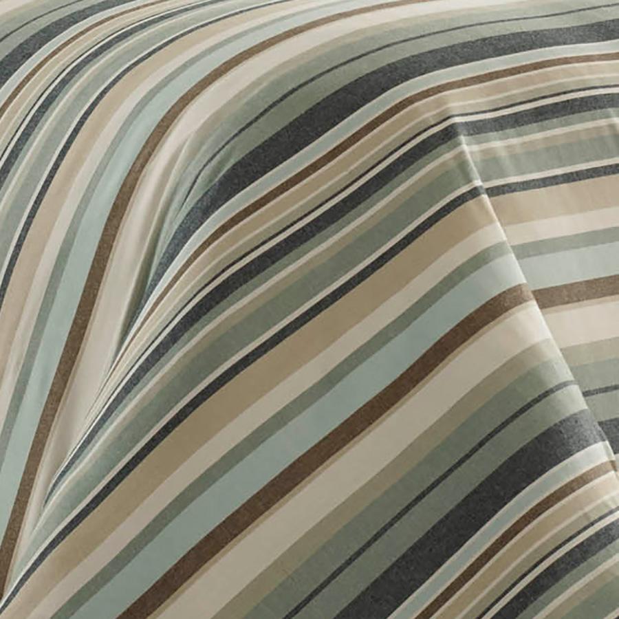 Tommy Bahama Canvas Stripe Comforter Set from Beddingstylecom