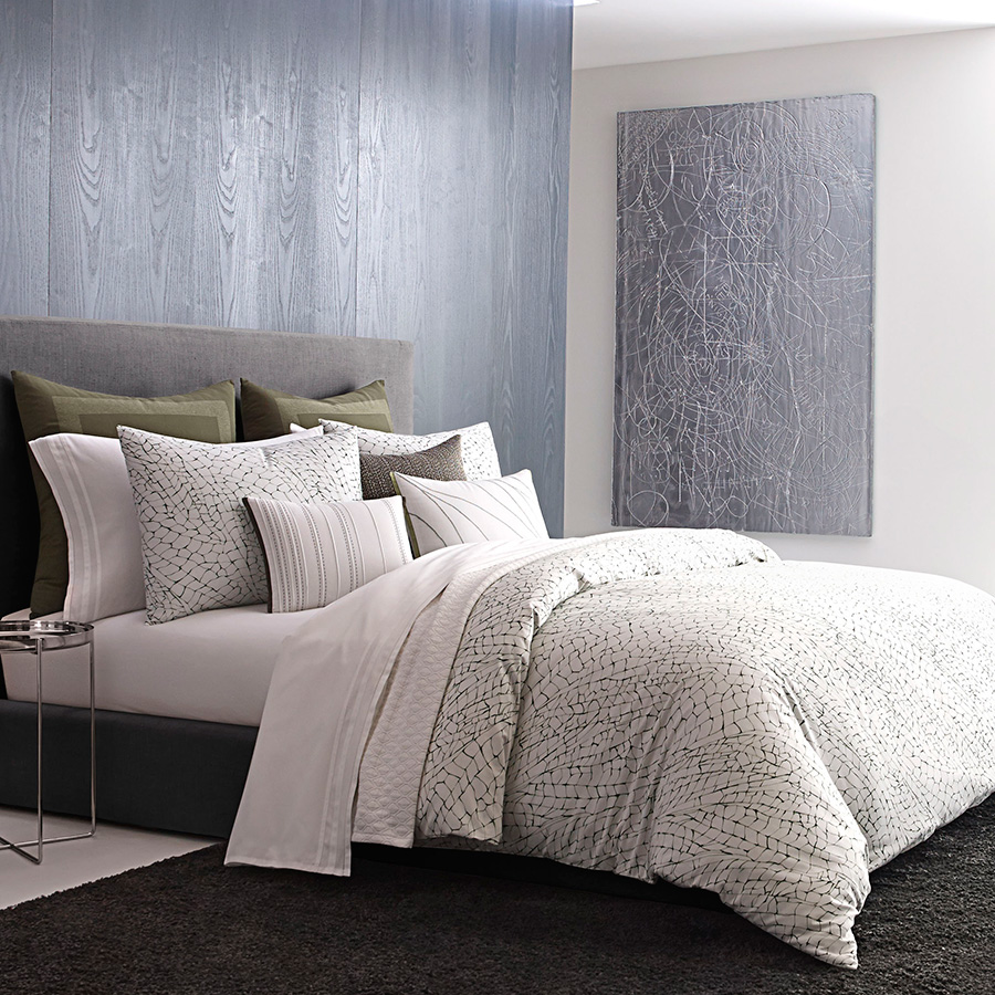 Vera Wang Dragonfly Wing Duvet Cover from Beddingstylecom
