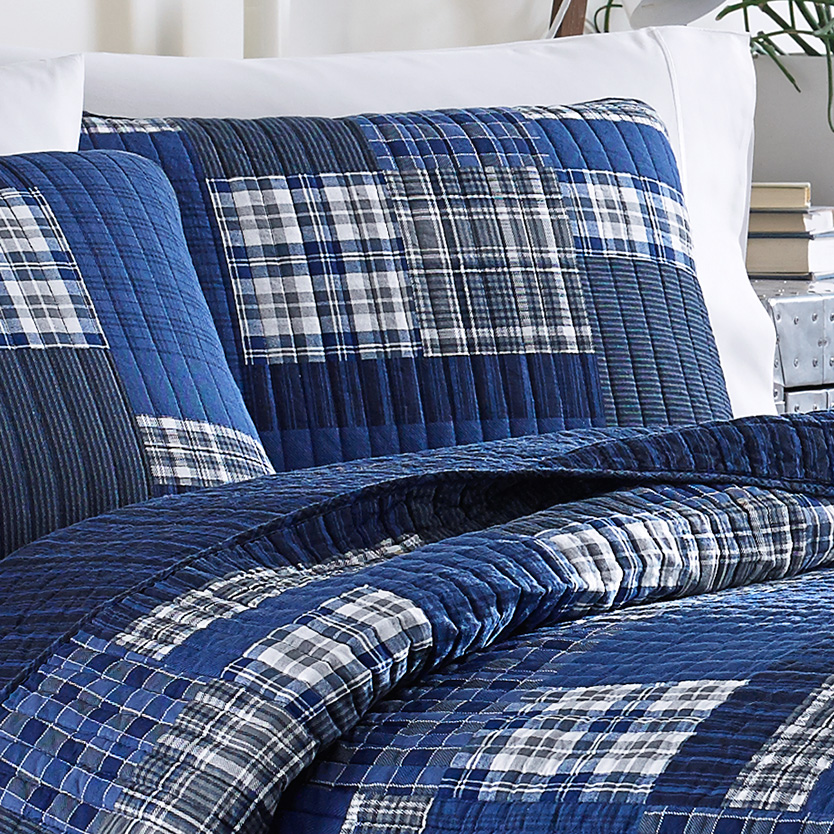 Eddie Bauer Eastmont Quilt Set from Beddingstylecom