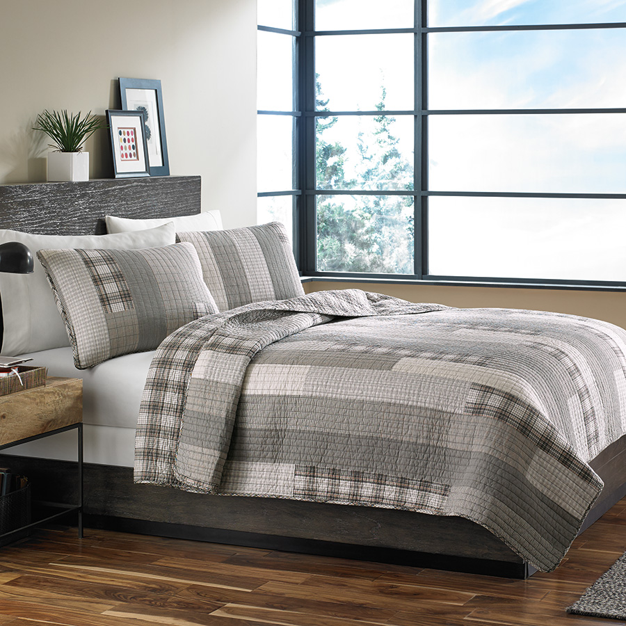 Eddie Bauer Fairview Quilt Set from Beddingstylecom