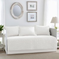 Laura Ashley Felicity White Daybed Set from Beddingstyle.com