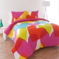 Agatha Ruiz De La Prada Flying Hearts Comforter Set from ...