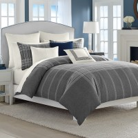 Nautica Haverdale Gray Comforter and Duvet Sets from ...
