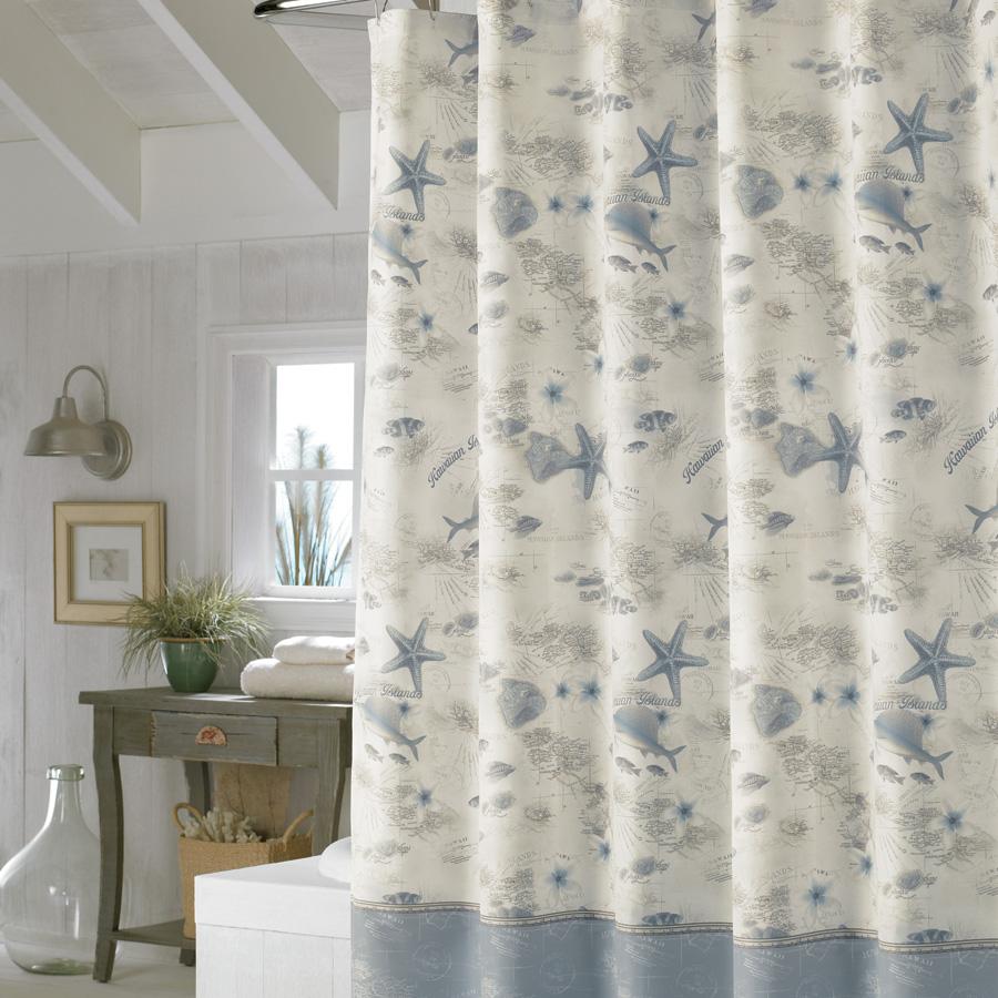 Tommy Bahama Hawaiian Islands Shower Curtain from Beddingstylecom