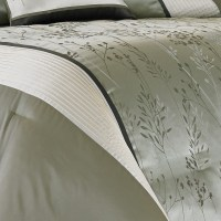 Manor Hill Lark Sage Complete Bedding Ensemble from ...