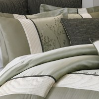 Manor Hill Lark Sage Complete Bedding Ensemble from