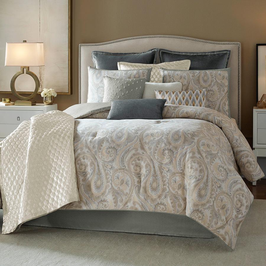 Candice Olson Lyrical Paisley Comforter Set From